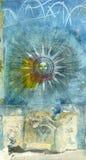 Alchemistische Zon Royalty-vrije Stock Afbeeldingen