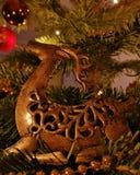 Alci di Natale immagini stock