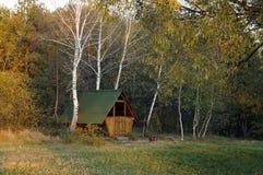 Alcoba en el bosque Imagen de archivo libre de regalías