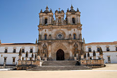 alcobaca修道院葡萄牙 免版税库存照片