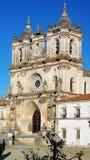 Alcobaca修道院, Alcobaca,葡萄牙 库存照片