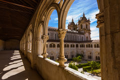 Alcobaca修道院-葡萄牙 图库摄影