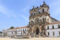 Alcobaca修道院  图库摄影