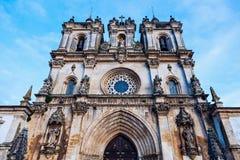 Alcobaca kloster Royaltyfria Bilder