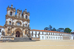 Alcobaca Monastery and Church. Unesco, Portugal Royalty Free Stock Image