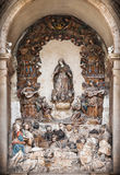 Alcobaca Monastery interior Stock Images
