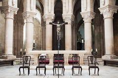 Alcobaca Monastery interior Royalty Free Stock Images