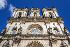 Alcobaca Monastery, a masterpiece of the Gothic Royalty Free Stock Photo