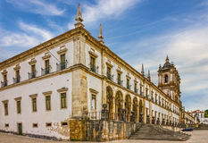 Alcobaca monastery is a Mediaeval Roman Catholic Monastery, Alco. Baca, Portugal Stock Images