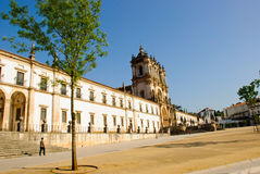 Alcobaca monastery, Portugal Royalty Free Stock Photography
