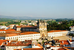 Alcobaca monastery, Portugal Royalty Free Stock Photos