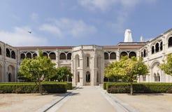 ALCOBACA, PORTUGAL - jardines el Mosteiro de Santa Maria de Alcobaca Fotografía de archivo libre de regalías