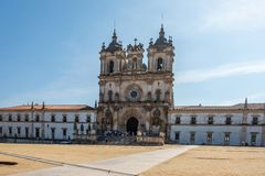 Monastery of Alcobaca Portugal royalty free stock image