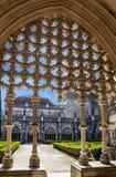 Alcobaca Roman Catholic Monastery medieval, Portugal imagens de stock royalty free