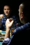 Alcohólico Fotografía de archivo libre de regalías