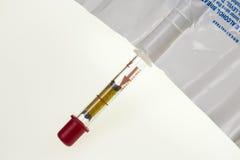 Alcoholímetro del alcohol en sangre Fotos de archivo libres de regalías