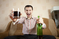 Alcohol. Royalty Free Stock Photos