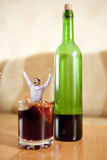 Alcohol. Stock Images