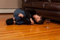 Alcohol Abuse Stock Photo
