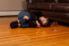 Alcohol Abuse royalty free stock image