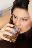 Alcohol addicted Stock Photos