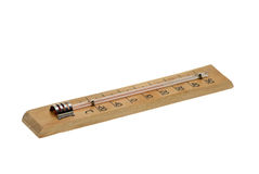 Alcohol air thermometer Royalty Free Stock Photos