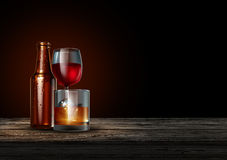 Alcohol Royalty Free Stock Images