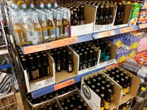 Alcohol beer and cider Royalty Free Stock Photos