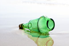 Alcohol bottle Stock Images
