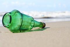 Alcohol bottle Stock Photography