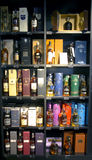 Alcohol boutique in Duty Free Shop Stock Photo