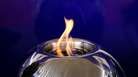 Alcohol Burner. Open Flame at Alcohol Burner stock photos