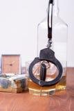 Alcohol, car, keys ,tragedy Royalty Free Stock Images