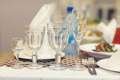 Alcohol cocktail banquet Royalty Free Stock Images