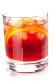 Alcohol cocktail collection - Negroni Royalty Free Stock Photos