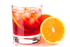 Alcohol cocktail collection - Negroni Stock Photo