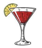 Alcohol cocktail cosmopolitan.  Stock Photography