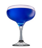 Alcohol cocktail isolated on white background Royalty Free Stock Images
