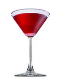 Alcohol cocktail isolated on white background Stock Photos