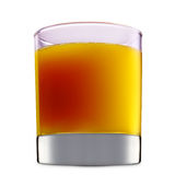 Alcohol cocktail isolated on white background Stock Photo