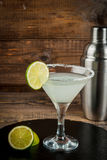 Alcohol cocktail lime margarita Royalty Free Stock Photos
