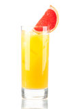 Alcohol cocktail with orange juice Stock Image