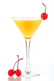 Alcohol cocktail with orange juice Royalty Free Stock Photography