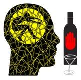 Alcohol Cravings Symptoms Stock Images