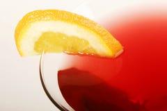 Alcohol de la bebida de la vodka de martini del coctel Imagen de archivo libre de regalías