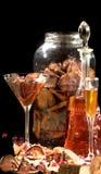 Alcohol de la fruta foto de archivo