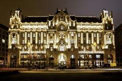 Alcohol de la Navidad en Budapest Imagen de archivo