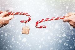 Alcohol de la Navidad y del Año Nuevo Concepto de un día de fiesta y de días Imagenes de archivo