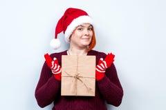 Alcohol de la Navidad y del Año Nuevo Concepto de un día de fiesta y de días Fotografía de archivo libre de regalías