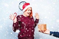 Alcohol de la Navidad y del Año Nuevo Concepto de un día de fiesta y de días Fotografía de archivo
